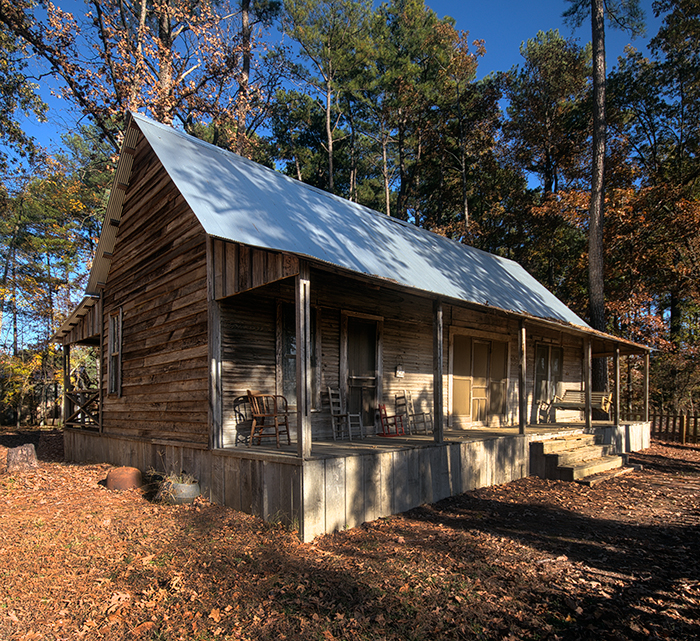 Pumpkin Hill Road Dogtrot House